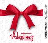 valentines day. valentines day...   Shutterstock .eps vector #788863249
