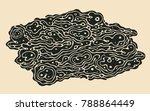 abstract design element ... | Shutterstock .eps vector #788864449