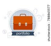 investment portfolio  banking... | Shutterstock .eps vector #788865577