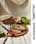 avocado toast on gluten free...