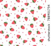 pattern with bright... | Shutterstock .eps vector #788901754