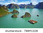 Picturesque Sea Landscape. Ha...