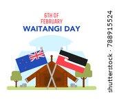 maori and new zealand flag. new ...   Shutterstock . vector #788915524