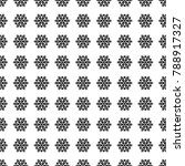 black floral seamless pattern... | Shutterstock .eps vector #788917327