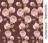 vector image. seamless pattern... | Shutterstock .eps vector #788922055