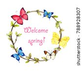 Spring Wreath From Twigs  Youn...