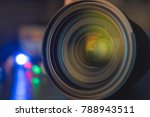 the photo or videocamera lens... | Shutterstock . vector #788943511