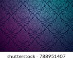 Vector Damask Wallpaper Design...