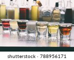selection of alcoholic drinks.... | Shutterstock . vector #788956171