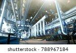 industrial zone  steel... | Shutterstock . vector #788967184