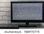 tv screen with noise glitcher... | Shutterstock . vector #788970775