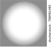 halftone circles  dots pattern  ...   Shutterstock .eps vector #788981485