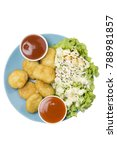 nugget isolate top view    | Shutterstock . vector #788981857