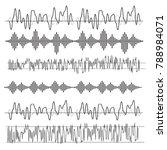 sound waves concept. sound...   Shutterstock .eps vector #788984071