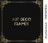 vintage retro style invitation  ...   Shutterstock .eps vector #788989831