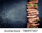 traditional barbecue skirt... | Shutterstock . vector #788997307