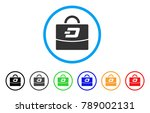 dash accounting case rounded...   Shutterstock .eps vector #789002131