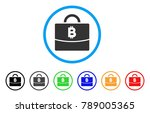 bitcoin accounting case rounded ...   Shutterstock .eps vector #789005365