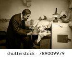 museum of physic. kiev  ukraine ... | Shutterstock . vector #789009979