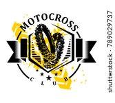 motocross logo  motocross design   Shutterstock .eps vector #789029737
