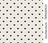 vector seamless pattern with... | Shutterstock .eps vector #789030925