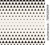 vector seamless geometric... | Shutterstock .eps vector #789030949
