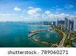 Aerial View From Panama City I...