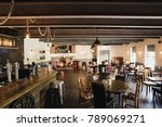 typically british bar and... | Shutterstock . vector #789069271