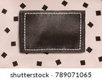 blank brown textile clothes... | Shutterstock . vector #789071065