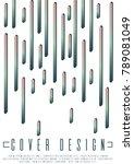 memphis background design for... | Shutterstock .eps vector #789081049