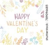 hand drawn doodle banner  ... | Shutterstock .eps vector #789096685