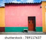 traditional houses of the city... | Shutterstock . vector #789117637