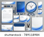 brand identity business... | Shutterstock .eps vector #789118984