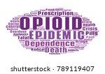 opioid crisis word cloud... | Shutterstock .eps vector #789119407