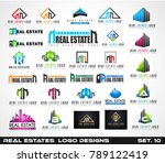 collection of creative real... | Shutterstock . vector #789122419