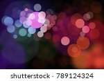 abstract background colorfull... | Shutterstock . vector #789124324