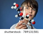 kids and science  teenage boy... | Shutterstock . vector #789131581