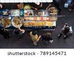 street food market  thailand... | Shutterstock . vector #789145471