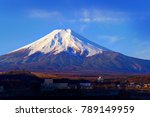 mount fuji. mount fuji is an... | Shutterstock . vector #789149959
