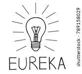 brilliant idea. eureka  stock...   Shutterstock .eps vector #789158029