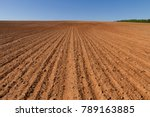 landscape with agricultural... | Shutterstock . vector #789163885