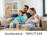 family  pregnancy and... | Shutterstock . vector #789177199