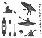 Set Of Extrema Water Sports...