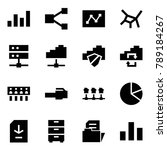 origami style icon set  ...   Shutterstock .eps vector #789184267