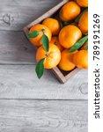 tangerines  oranges ... | Shutterstock . vector #789191269