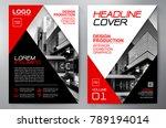 business brochure. flyer design.... | Shutterstock .eps vector #789194014