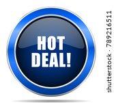hot deal vector icon. modern...   Shutterstock .eps vector #789216511