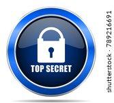 top seret vector icon. modern...   Shutterstock .eps vector #789216691