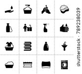 soap icons. vector collection... | Shutterstock .eps vector #789238039