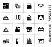 window icons. vector collection ...